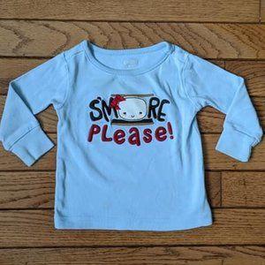 Gymboree Smore Camping Shirt